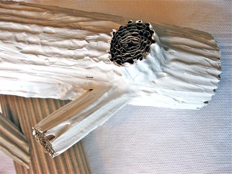 Как сделать из бумаги бревно